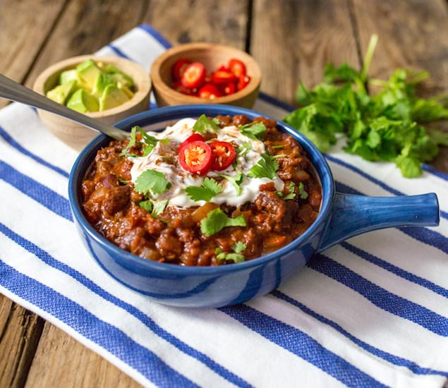 Spiced Chili Con Carne recipe
