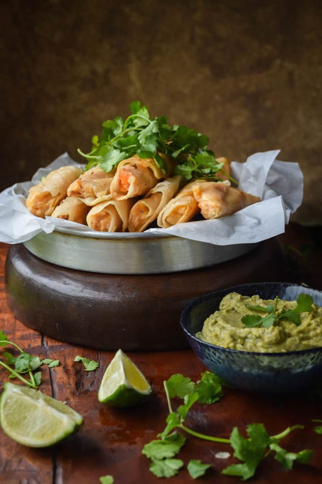 Creamy-Chicken-Taquitos-and-Cilantro-Lime-Avocado-Hummus6