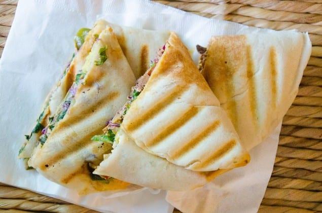 Tofu Panini with Roasted Vegetables and Avocado Cream – Honest ...