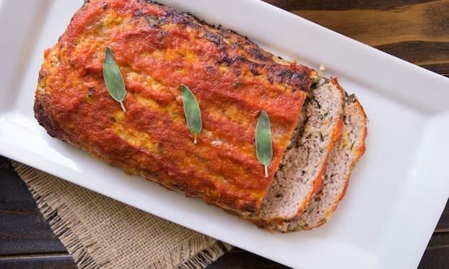 Pork, apple and sage meatloaf1