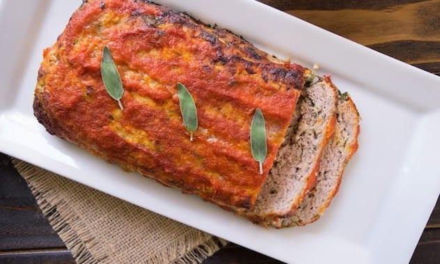 Pork, apple and sage meatloaf1