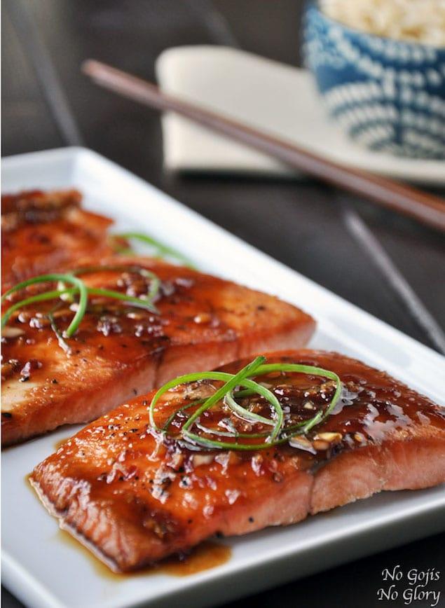 salmon honey ginger recipe