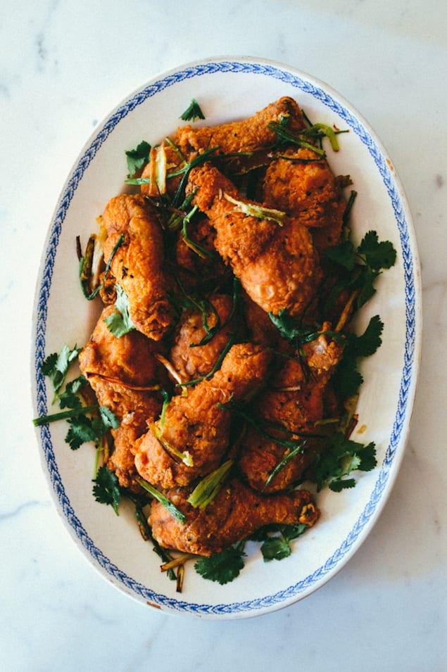 Five Spice Crispy Chicken Drumsticks