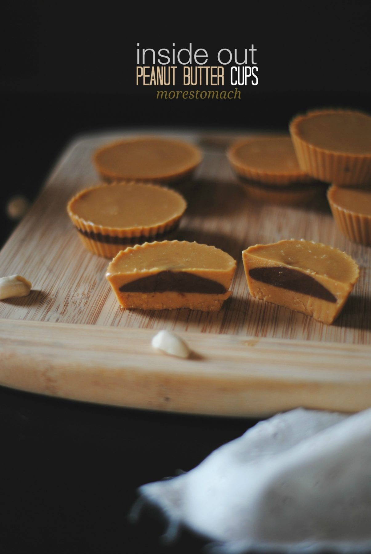 Inside Out Vegan Peanut Butter Cups – Honest Cooking