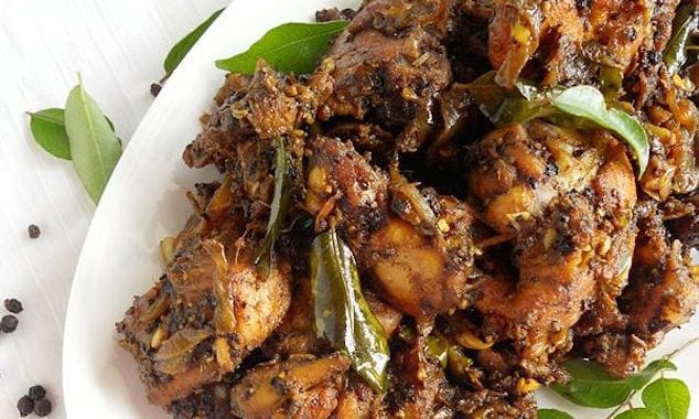 Kerla Style Pepper Chicken
