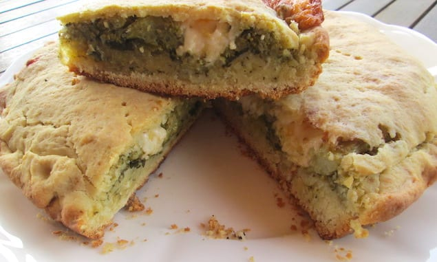 ITALIAN PIE WITH BROCCOLI AND CHEESE
