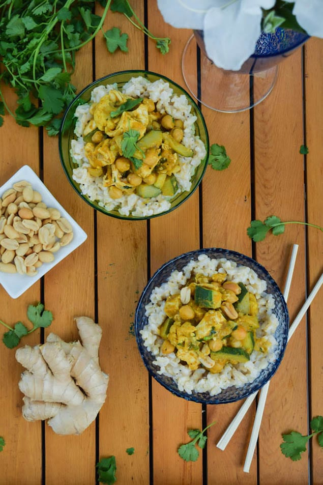 Thai-Pumpkin-Chicken-Curry-with-Coconut-Ginger-Brown-Rice-2