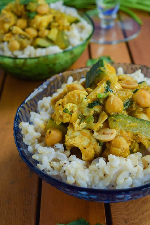 Thai-Pumpkin-Chicken-Curry-with-Coconut-Ginger-Brown-Rice-4