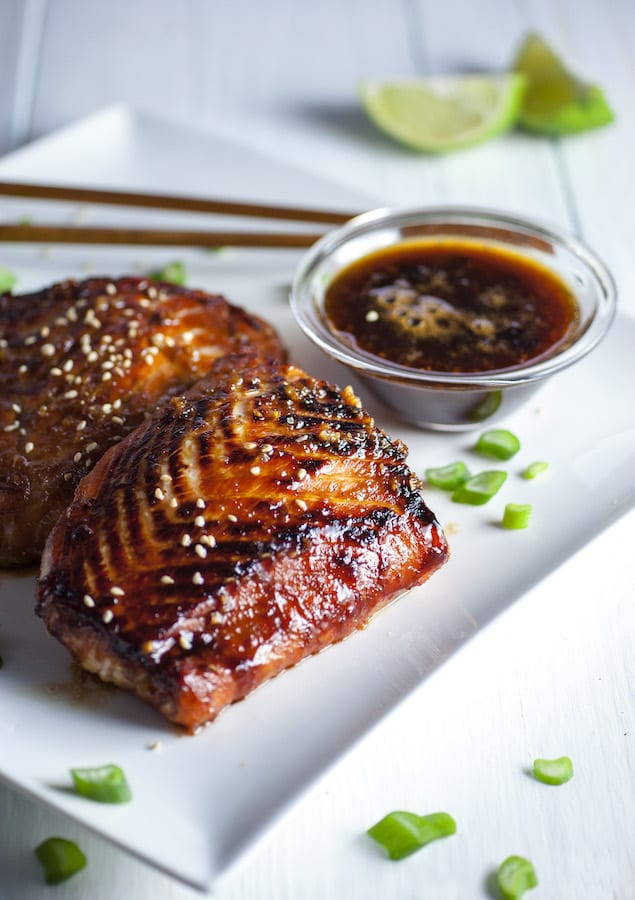Crispy Garlic-Miso Glazed Salmon – Honest Cooking