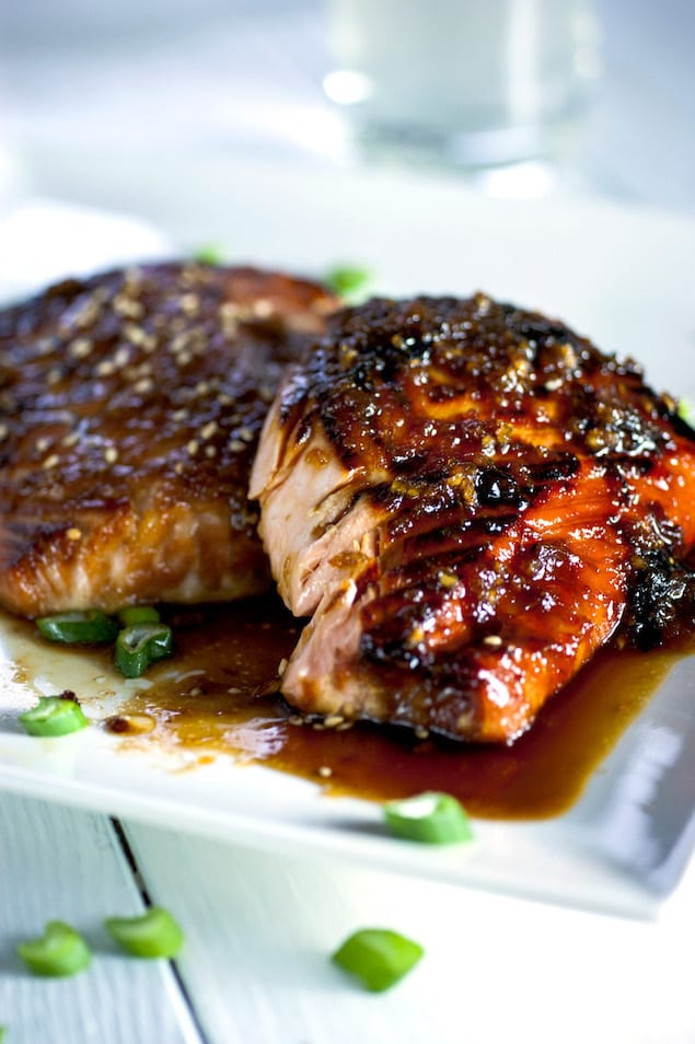Crispy Garlic Miso Glazed Salmon Honest Cooking