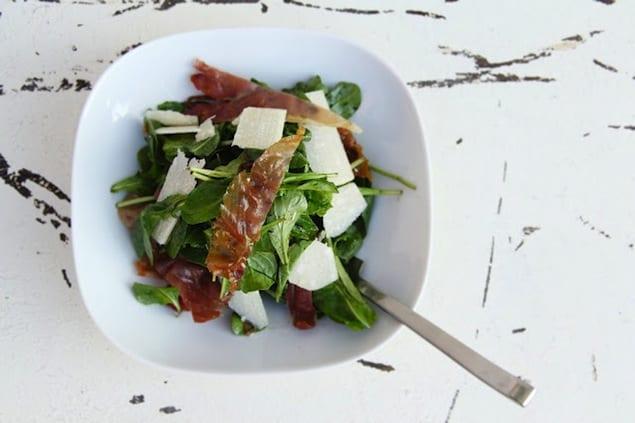 Crispy Prosciutto Salad PS