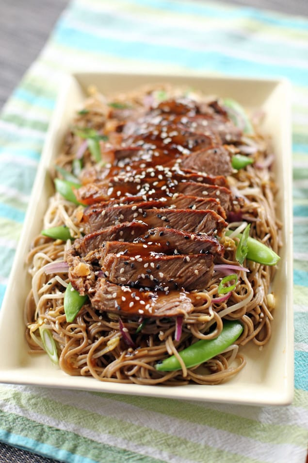 Teriyaki Steak and Soba Noodles – Honest Cooking