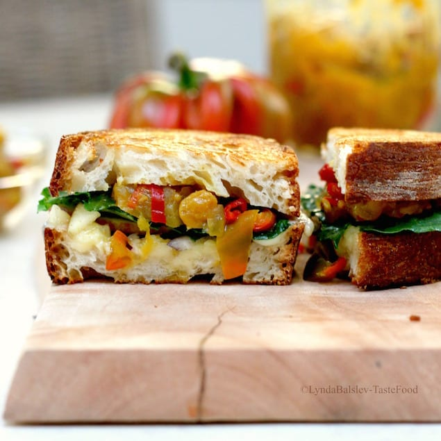 Grilled Cheese Sandwich With Apple Chutney Recipes — Dishmaps