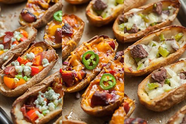 Loaded Baked Potato Skins – Honest Cooking