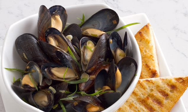 All-Clad AmbassadorDC_Bouchot Mussels