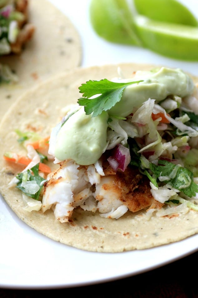 Avocado Cream Slaw Fish Tacos3 by Noshing With The Nolands (3)