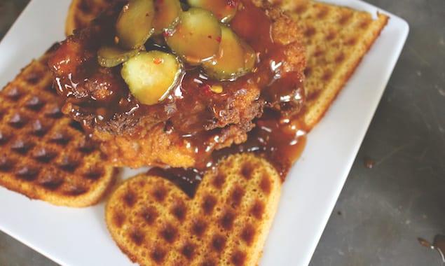 Pheasant++Waffles