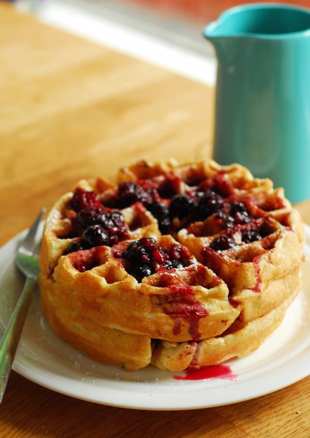 cheesecake-waffles