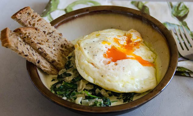 Fried-Eggs-and-Creamy-Spinach-Umami-Girl2