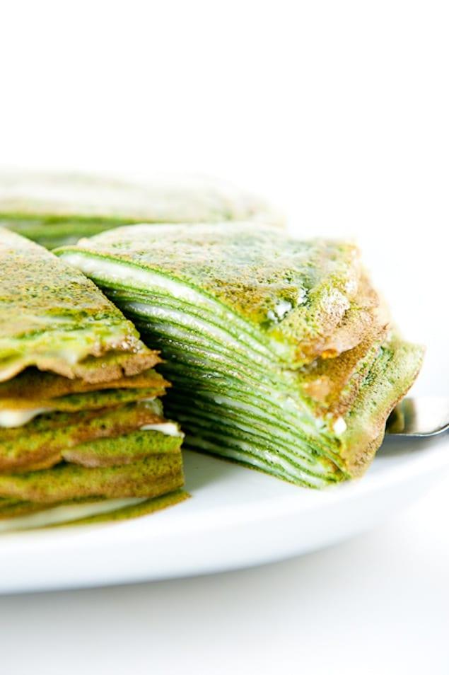 matcha crepe cake beau tea ful green recipes with matcha honest cooking 5742