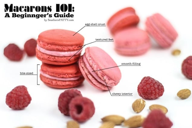 Raspberry-Almond-Macarons-Anatomy-2-740x493