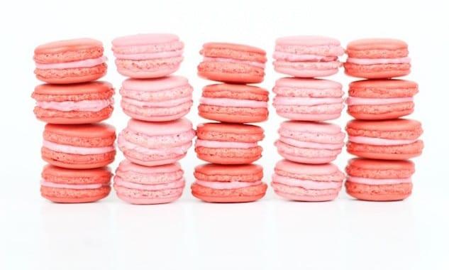 Raspberry-Almond-Macarons1-740x493