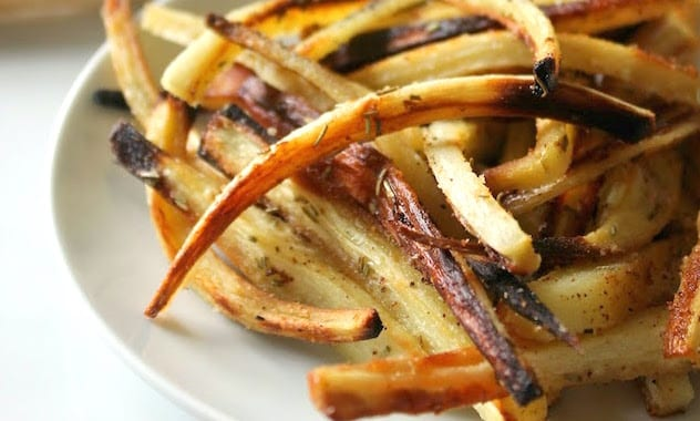 Rosemary Parnsip Fries