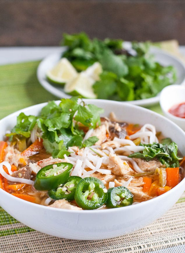 Asian-Inspired Chicken Noodle Soup