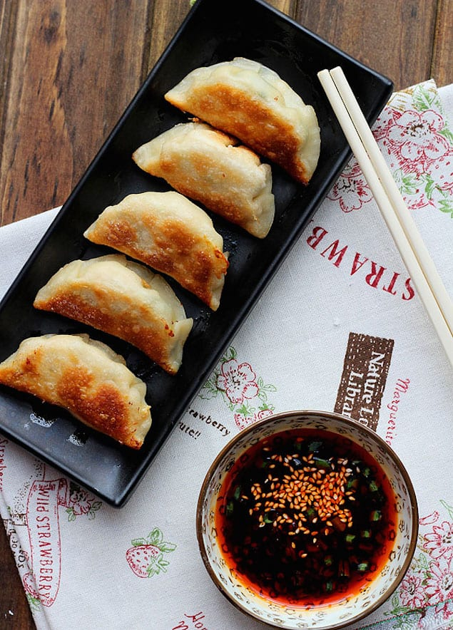 Pork Pot Stickers with Chives – Honest Cooking