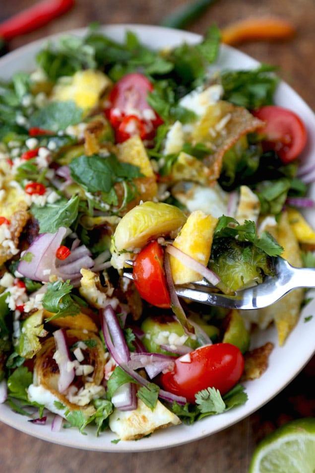Thai Egg Salad Bite