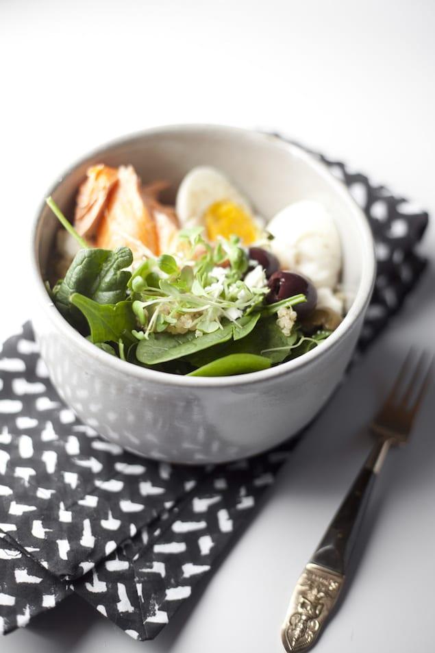The Mediterranean Quinoa Salad Bowl