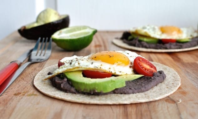 fried-egg-and-black-bean-tacos
