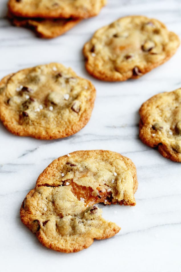 Salted Caramel Cookies – Honest Cooking