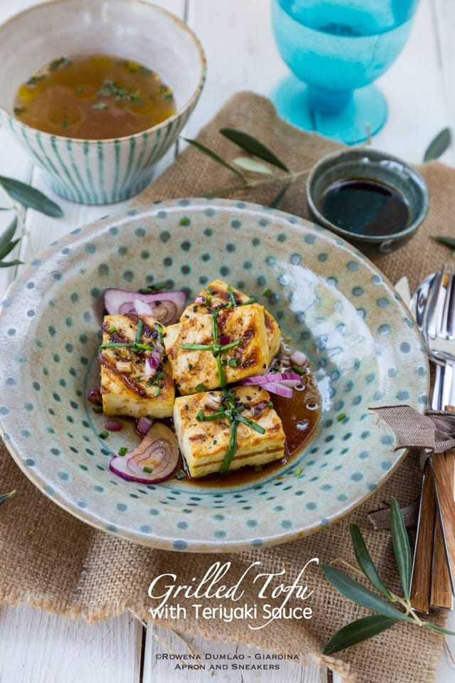 Grilled Tofu with Teriyaki Sauce – Honest Cooking