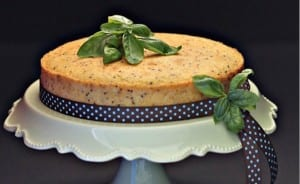 almond butter cake with chia seeds 024