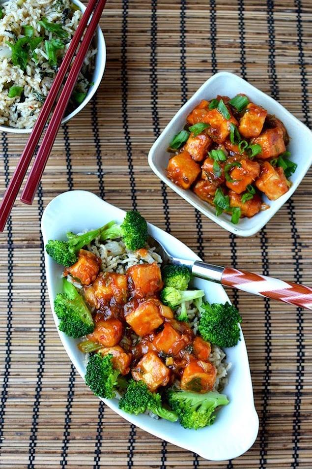 General Tso's Tofu1