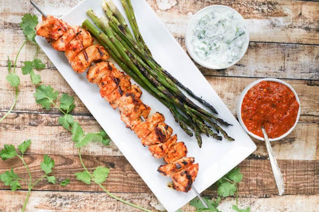 Grilled-Harissa-Chicken-Skewers-with-Yogurt-Dipping-Sauce-41