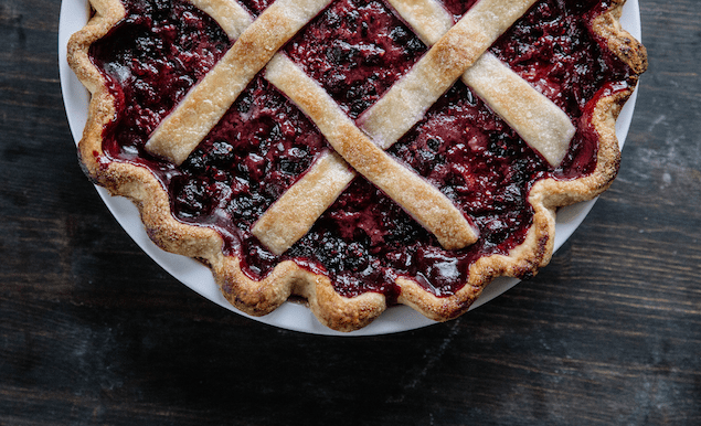 balsamic berry pie recipe