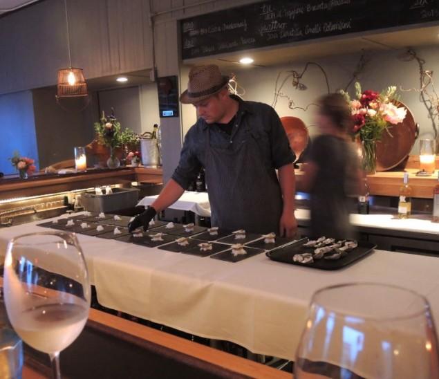 Chef Ceraldi Plating First Course