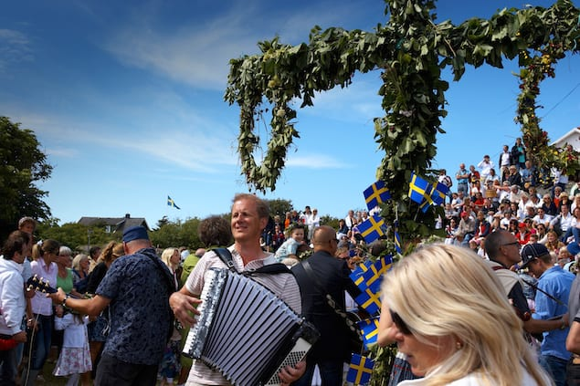 Midsummer in West Sweden 01. Photo Jonas Ingman