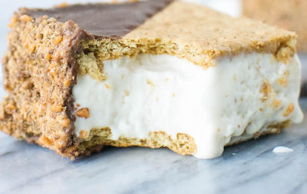 Irresistible S'more Ice Cream Sandwiches