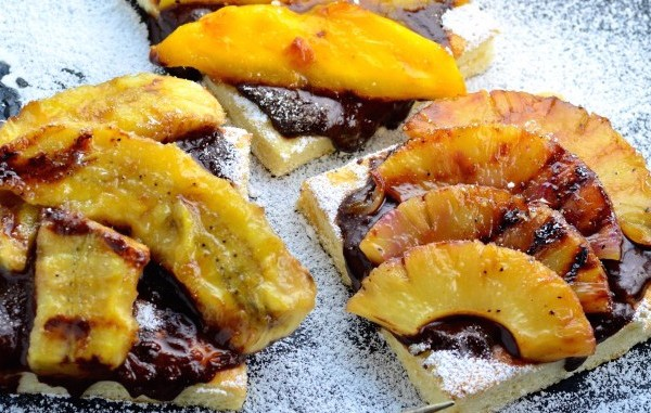 Grill Like an Italian with Colavita: Grilled Fruit Pizza