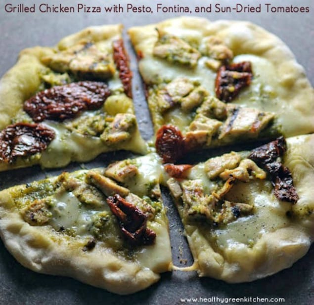 Grilled Vegetable And Smoked Fontina Pizza Recipes — Dishmaps