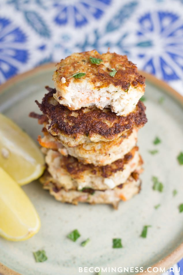 Spiced Cauliflower Fritters – Honest Cooking