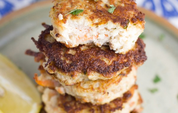 Spiced Cauliflower Fritters