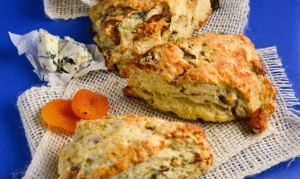 Castello Summer of Blue — Apricot and Blue Cheese Scones