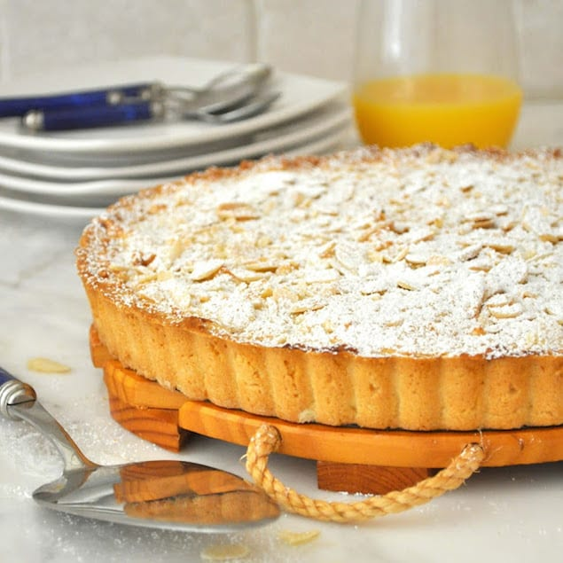 Almond and Apricot Tart