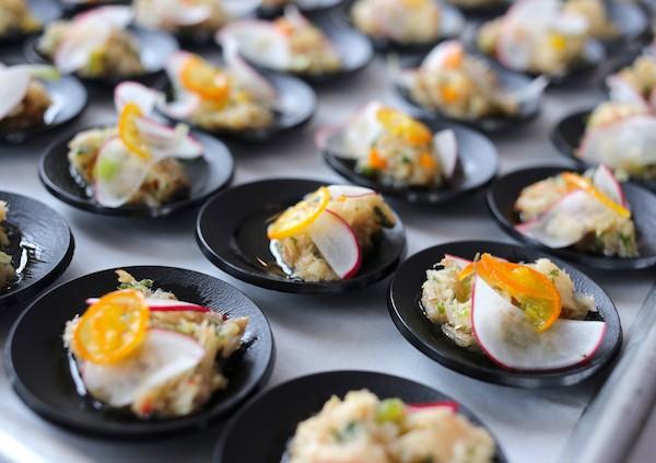 Chef Digby Saltfish Mojo Dish at Rum and Rhythm. Credit - Imran Stephen