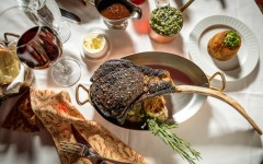 Sultry Gourmet Classics Served at Strip House Midtown, NYC