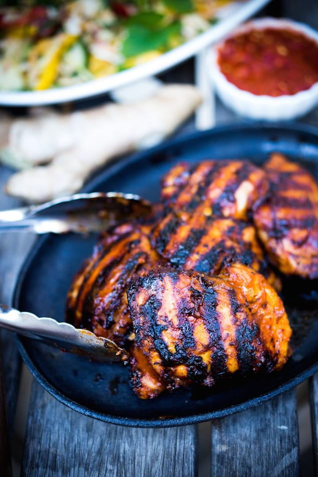 Spicy Grilled Sambal Chicken